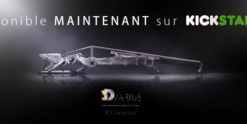 The 3Dvarius is available NOW on Kickstarter!